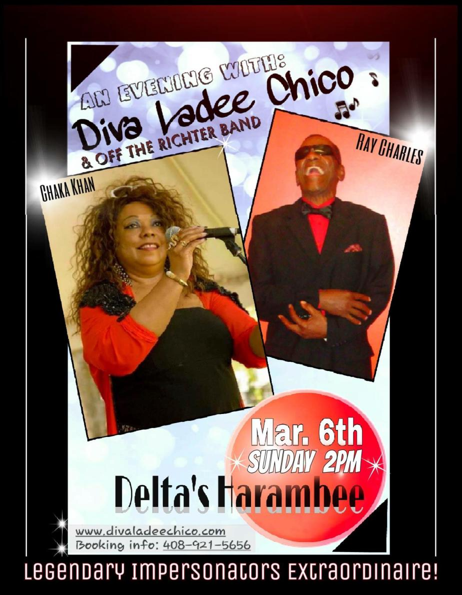 An Evening With: Diva Ladee Chico & Off The Richter Band